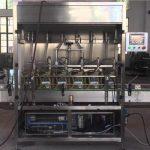 1-5L Máquina automática de recheo de botellas de aceite de pistón