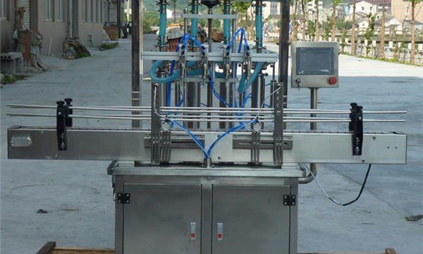 Máquina automática de recheo de pasta de cacahuete