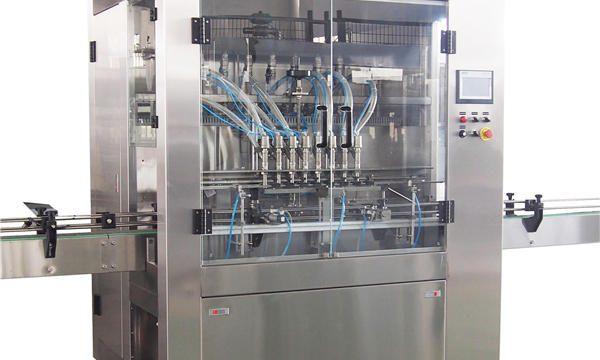 Máquinas de recheo automáticas de pistón 1L-5L