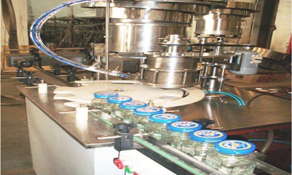 Liña de recheo de mel de 50-500 ml, máquina de envasado de mel, máquina de envasado de tarro de mel