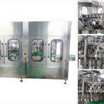 Máquina de recheo automática de botellas de cervexa de vodka de cervexa automática