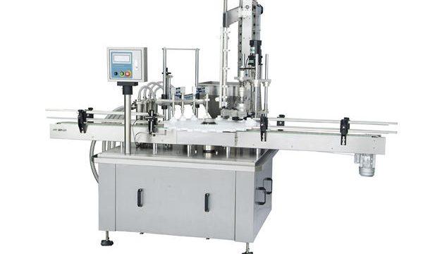 Máquina de recheo automática de pistóns rotativos