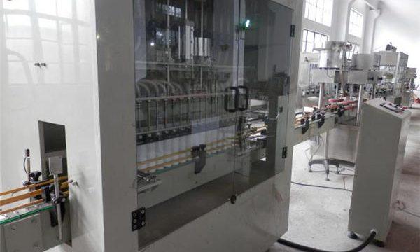 Máquina de recheo de lixivia automática completa de aceiro inoxidable