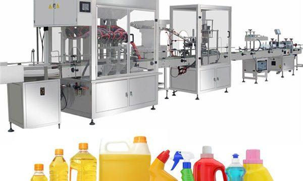 Máquina de recheo de lixivia Gravity, Liña de produción de recheo de lixivia