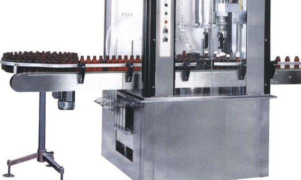 Máquina de recheo de cápsula de gran botella de alta velocidade