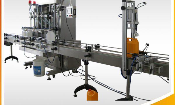 Máquina automática de recheo de líquido para limpeza de xoias automática