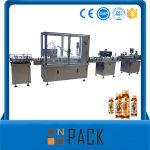 Provedor de China Máquina automática de recheo de líquidos de botella de mel