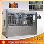 Máquina de recheo automática de botellas de líquido de perfume cosmético automático