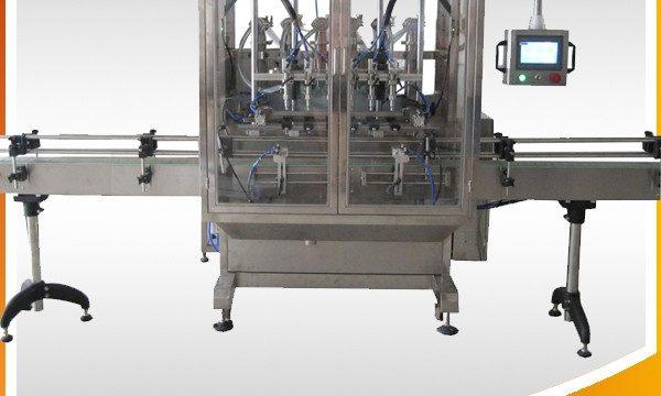 Máquina automática de aceite de oliva e crema e recheo de líquidos