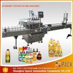 Máquina de recheo de aceite lubricante 1L-4L