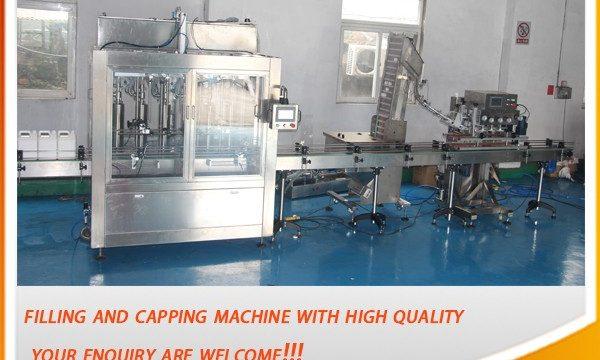 Máquina de recheo automática completa de 5 litros de alta eficiencia