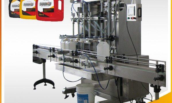 Máquina de recheo de deterxente líquido automático 500ml-2L / Máquina de recheo de líquidos de lavado