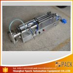 Máquina de recheo de aceite semiautomática Máquina de llenado de aceite ideal