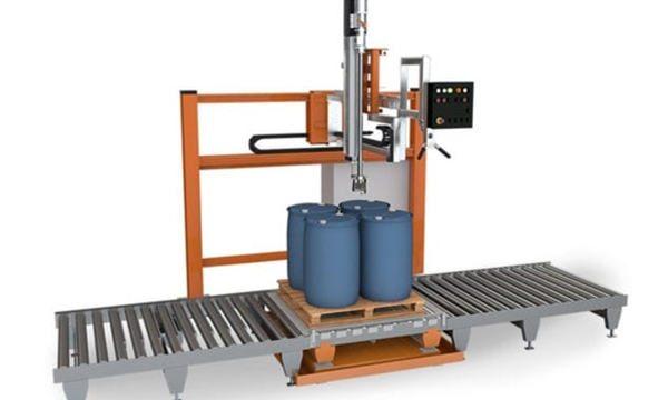 Máquina de recheo de líquidos de tambor 200L