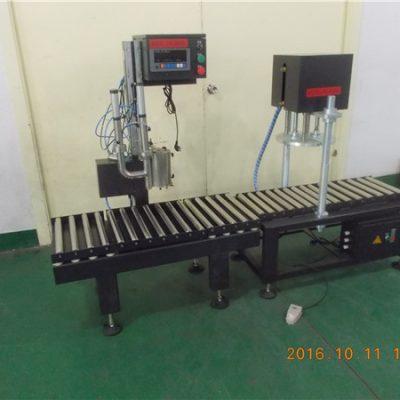 máquina de recheo de tambor para aceite lubricante / tambor 200L
