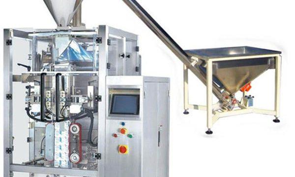 Nova máquina de recheo automática en po de café