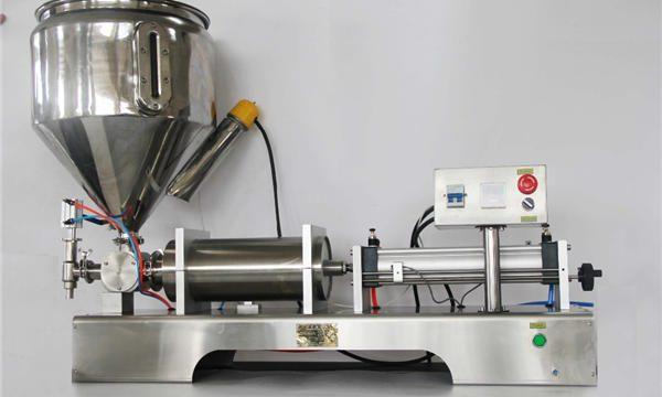 Máquina de recheo pneumática semiautomática de sabor de froita