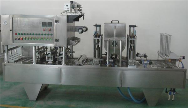 Máquina de recheo de atasco rotativo totalmente automático