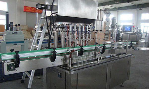 Máquina automática de recheo de mermelada simple de pequeno tamaño