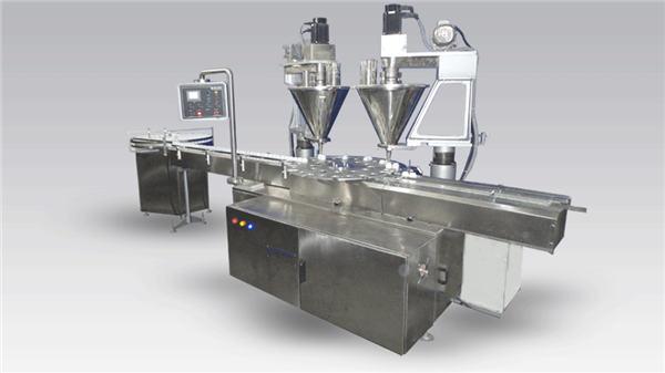 Máquina de café chea de 6 cabezas chea de po máquina
