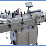 Fabricante automático de etiquetas de botellas redondas NPACK con impresora