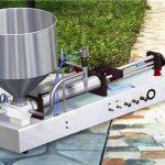 Máquina de recheo de líquidos semiautomáticos