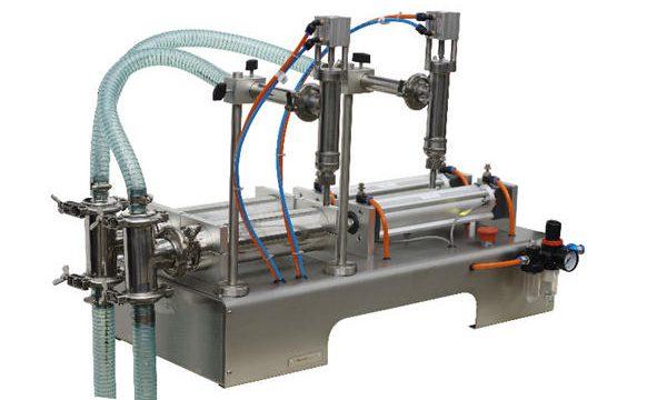 Máquina de recheo de xabón líquido semiautomático Sachet