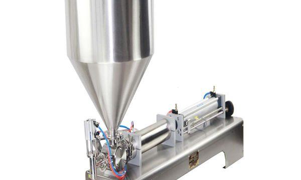 50-500ml Pasta e Máquina de recheo de líquido para pasta de dentes de Shampoo con crema de dentes