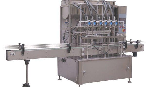 Máquina de recheo de pistón líquido xampú completamente automático ao por maior