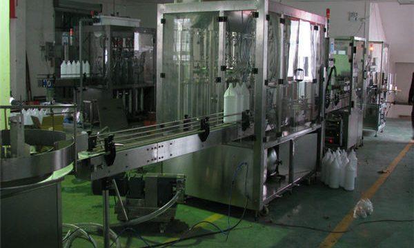 Máquina de recheo automática de xampú / Máquina de recheo de xampú / Liña de recheo de xampú