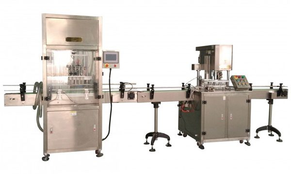 Máquina de recheo de líquidos totalmente automática