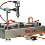 Máquina de recheo neumática de dobre cabezas 100-1000ml