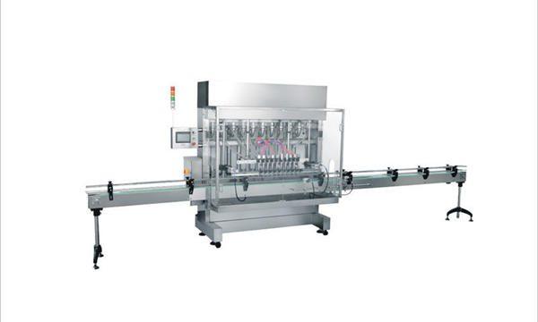 4 máquinas de recheo automático de cosméticos para deterxentes de xabón líquido