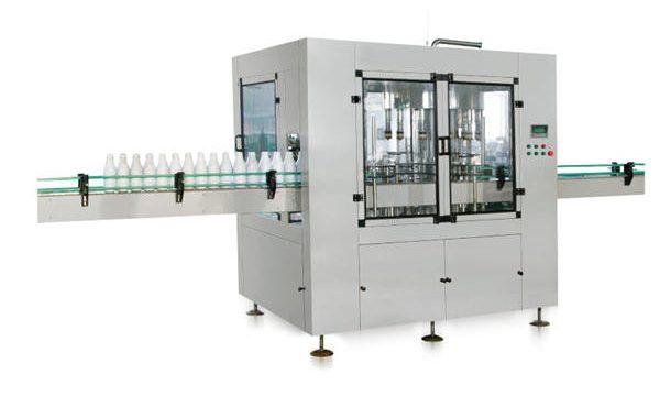 Máquina automática de recheo de xabón líquido automático de pistón lineal de oito cabezas