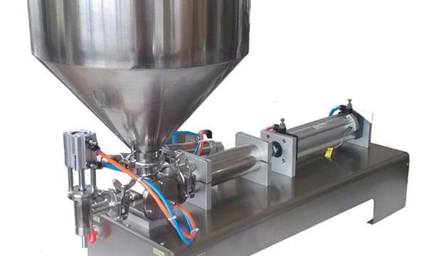 Máquina de recheo de pasta pneumática manual de prezos de fábrica