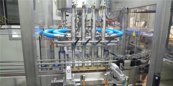 Máquina de recheo automático de pasta de tomate de alta eficiencia