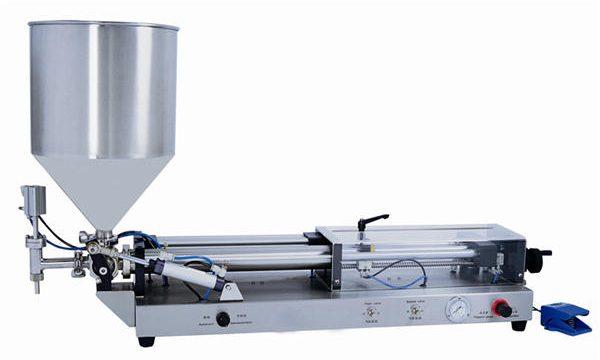 Máquina de recheo semiautomática de pasta para 3mL-5L