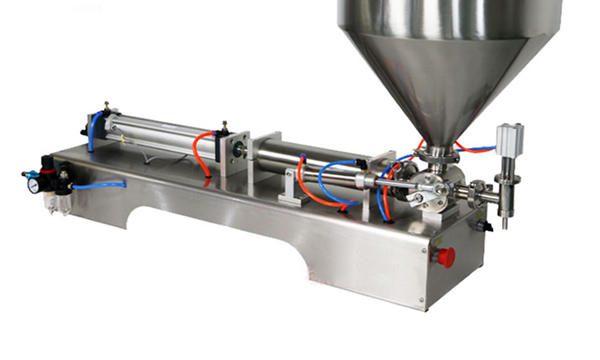Pequeno volume de máquina de recheo de pasta de soia de 3-25ML