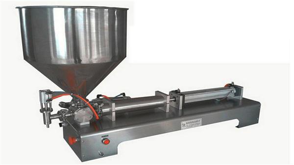 Máquina de recheo de pasta vertical semiautomática de cabeza única