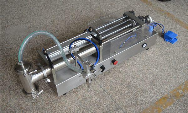 Fabricante de recheo de xampú semi automático